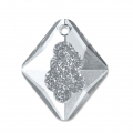 Pendente Swarovski 6926 Growing Crystal Rhombus 26 mm Crystal