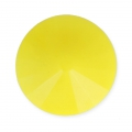Cabochon rotondo Rivoli Matubo mm.12 Light Yellow