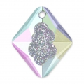 Pendente Swarovski 6926 Growing Crystal Rhombus 26 mm Crystal AB