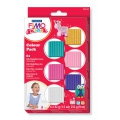 Set per modellare fimo: pasta da modellare assortimento 6 colori Girly