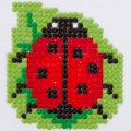 Kit Diamond painting 7x7 cm Coccinella
