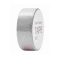 Nastro adesivo - Paper Poetry Tape 15 mm Paillettes Argentato x5m