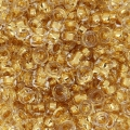 Spacer Miyuki 3 mm SPR3-0195 - 24kt Gold Lined Crystal x5g