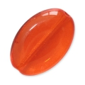 Perle in vetro Vintage par Puca® Ovale 16x11x4mm Hyacinth x10