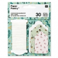 Assortimento di etichette regali Paper Poetry Classical Christmas x30