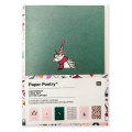 Set di biglietti e buste formato A6 Paper Poetry Magical Christmas x 6