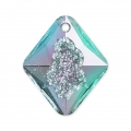 Pendente Swarovski 6926 Growing Crystal Rhombus 26mm Crystal Vitrail Light