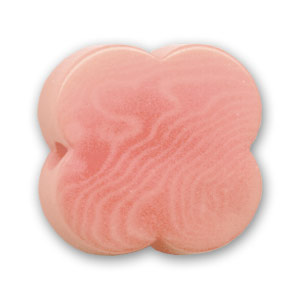 Perla di Tagua fiore mm. 17 Light Rose x 1