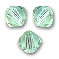 Biconi Swarovski mm. 4 Chrysolite  x50