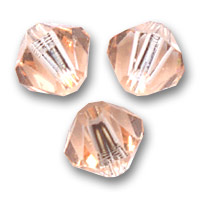 Biconi Swarovski mm. 4 Light Peach  x50